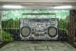 Дисководещ Чаво музикално графити в подлез